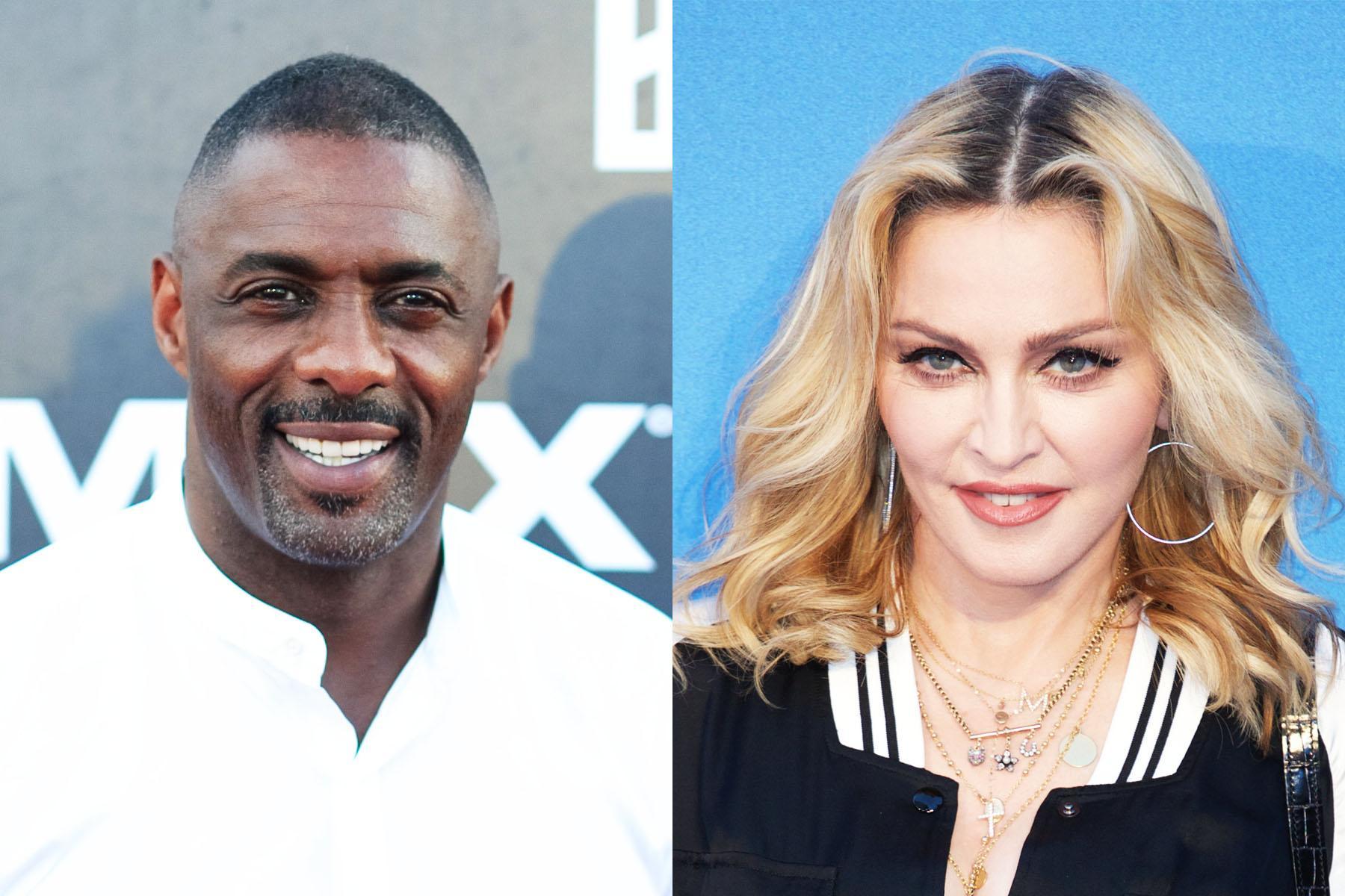 Madonna'nın Yeni Aşkı İdris Elba