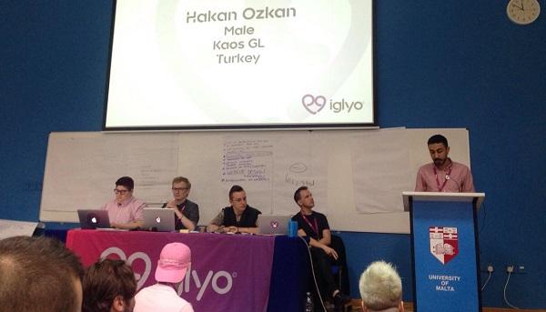 Kaos GL Derneği'nden Hakan, Uluslararası LGBTİ Gençlik Örgütü IGLYO'nun Yönetim Kurulu Üyesi Seçildi