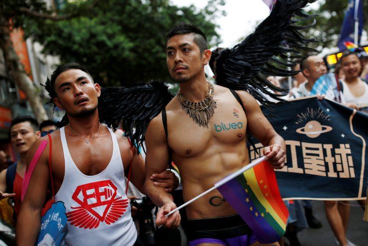 Tayvan Onur Yürüyüşü'nde 80 Bin Kişi Yürüdü