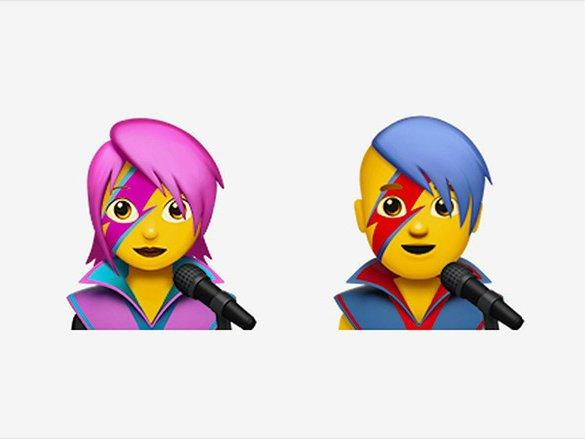 Apple'dan Dawid Bowie Emojisi
