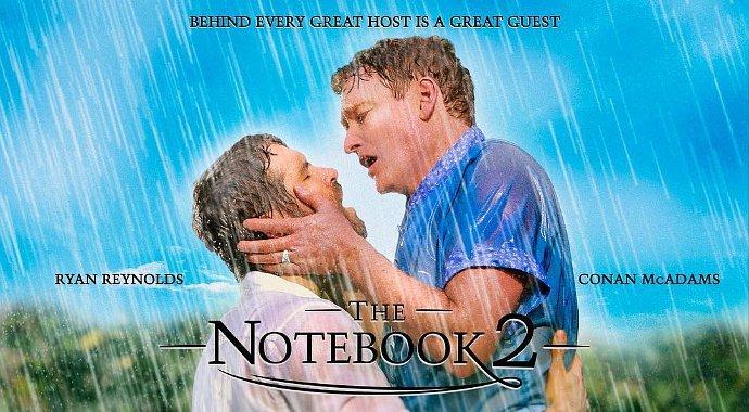 İZLEYİN: Ryan Reynolds ve Conan O'Brien Toplam 24 Saniye Öpüştü