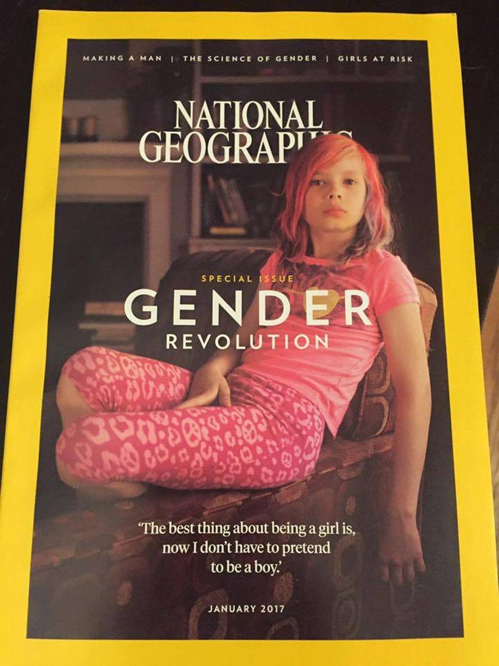 9 Yaşındaki Transseksüel Kız National Geographic Kapağında!