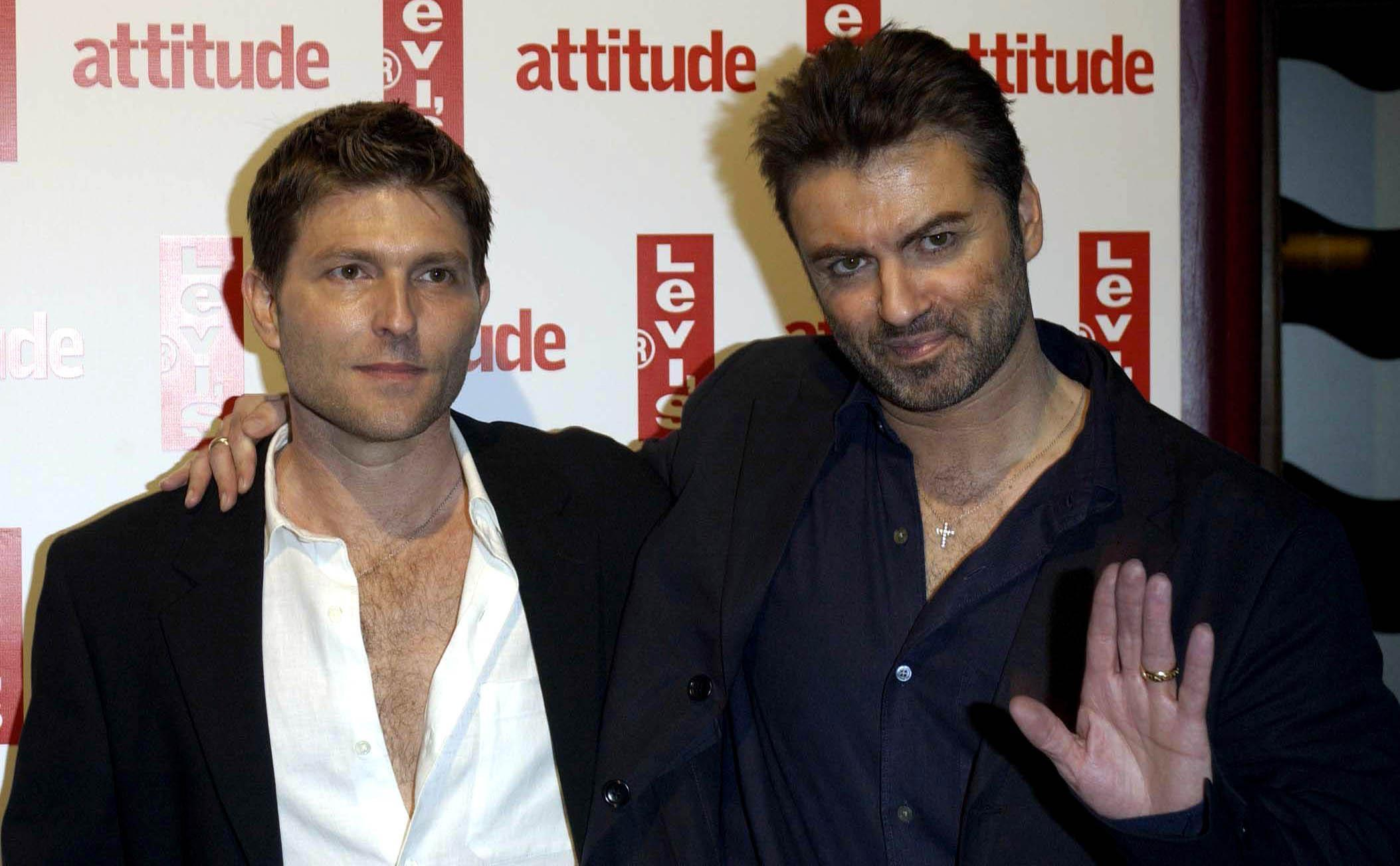 George Michael Attitude Magazine's 10th Birthday Party