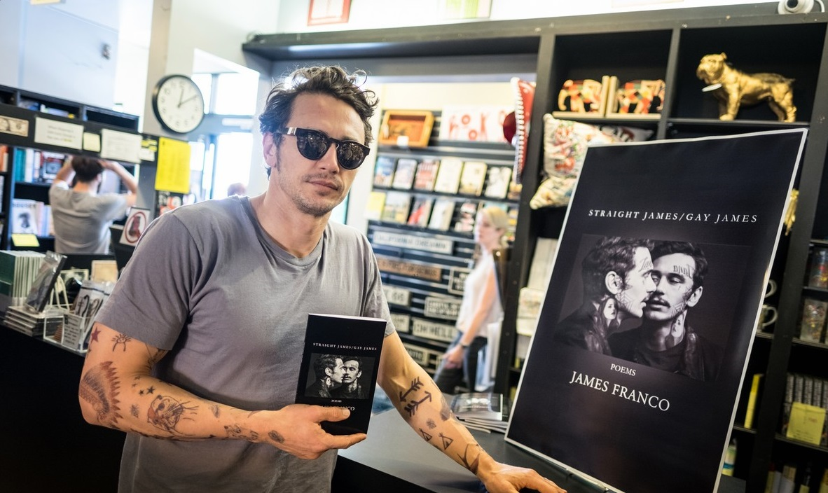 """James Franco Book Signing For """"Straight James/Gay James"""""""