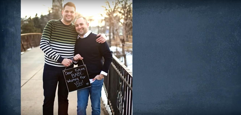 İzleyin: Eşcinsel Çiftten Doğmamış Çocuğuna Şarkı