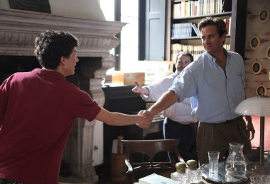 Timothée Chalamet and Armie Hammer appear in Call Me by Your Name by Luca Guadagnino, an official selection of the Premieres program at the 2017 Sundance Film Festival. © 2016 Sundance Institute.