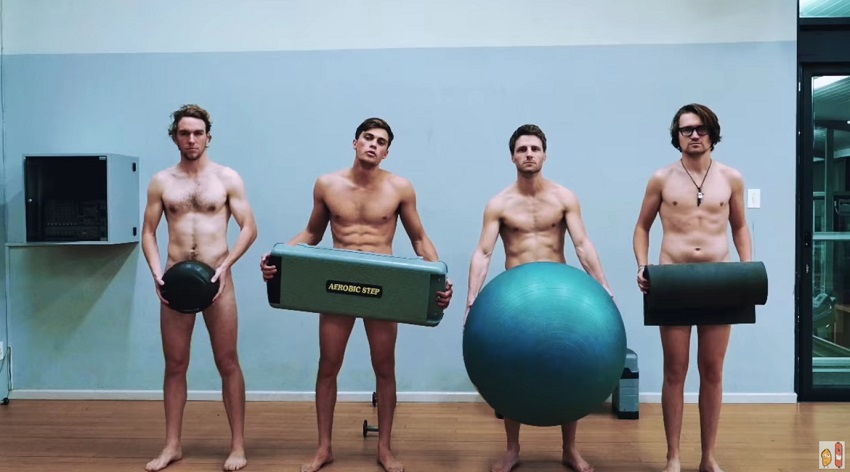 İzleyin: Herkesin Çıplak Spor Yaptığı Bir Salonda Çalışmak İster Miydiniz?