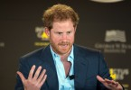 Prince Harry speaks during the  2016 Invictus Games Symposium on Invisible Wounds in Orlando, Fla. May 8, 2016. The symposium hosted by Prince Harry and President George W. Bush sought to destigmatize the victims of post traumatic stress and other injuries that are not regularly visible. (DoD News photo by EJ Hersom)