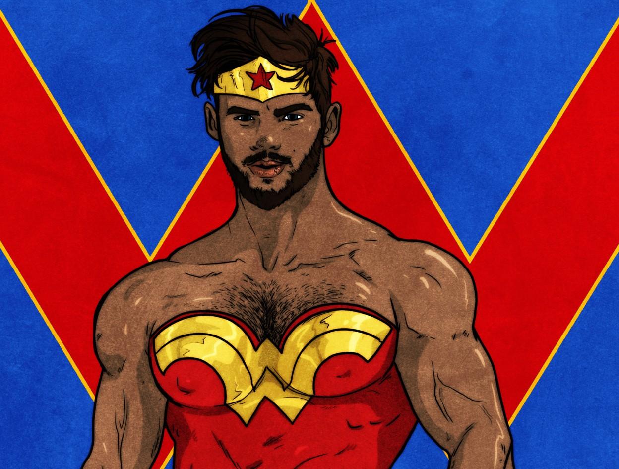 ZachArt Kadın Süper Kahramanları Yeniden Yorumladı