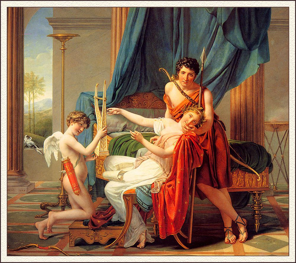 Sappho & Phaon_Jacques-Louis