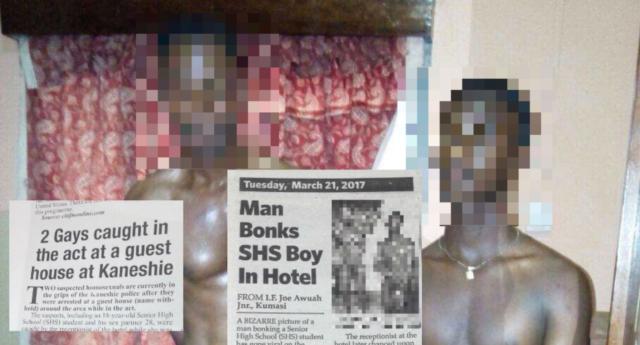 Gana'da İki Erkek Bir Otelde Seks Yaparken Yakalanıp Gözaltına Alındı
