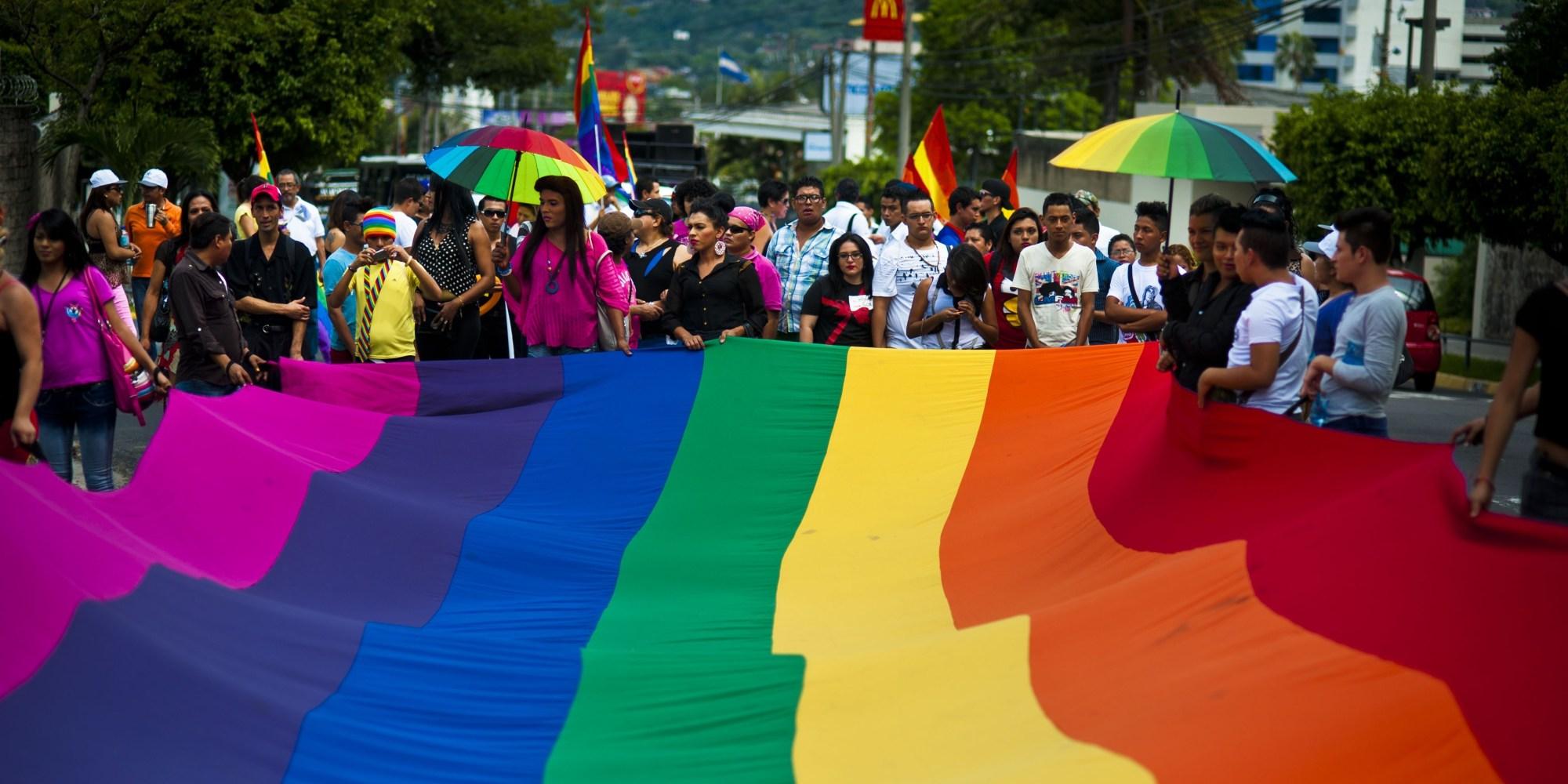 EL SALVADOR-GAY-RIGHTS-MARCH