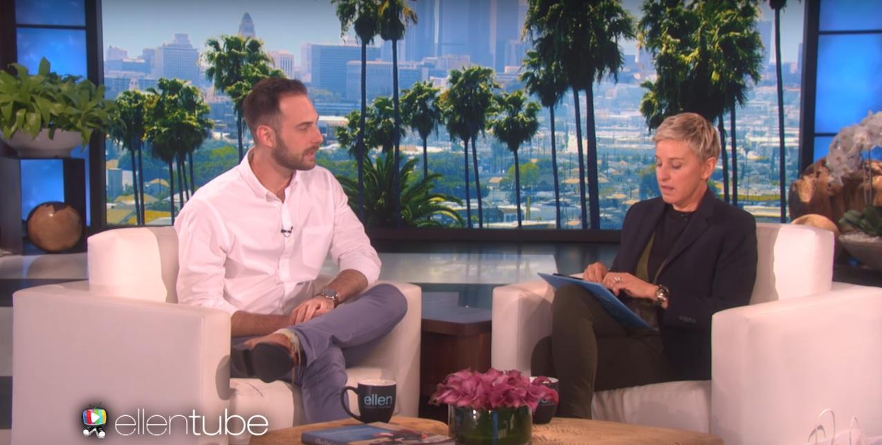 İzleyin: Ellen Yeni Fenomen Gay Öğretmeni İşte Böyle Şaşırttı!