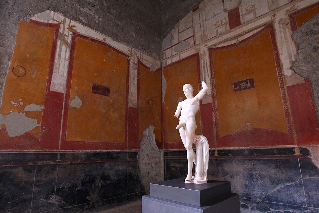 ITALY-CULTURE-ARCHAEOLOGY-POMPEII
