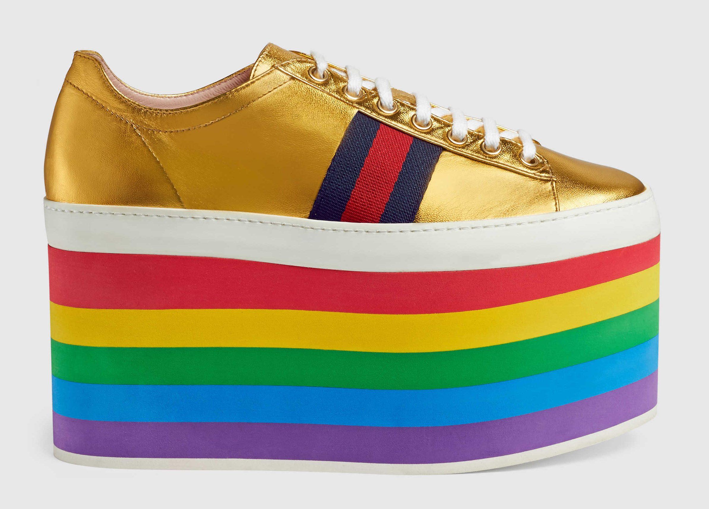 Şov Meraklılarına Gucci'den Onur Haftasına Özel Sneakerlar!