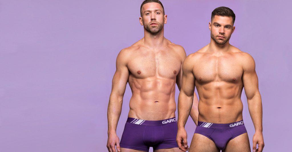 Gay Çift Garçon Model İç Giyim Kampanyasının Yeni Yüzleri Oldu