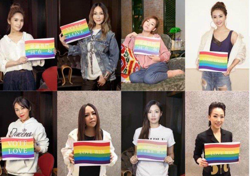 Asya'nın En Sevilen Kadın Şarkıcıları LGBT Şarkısı İçin Bir Araya Geldi