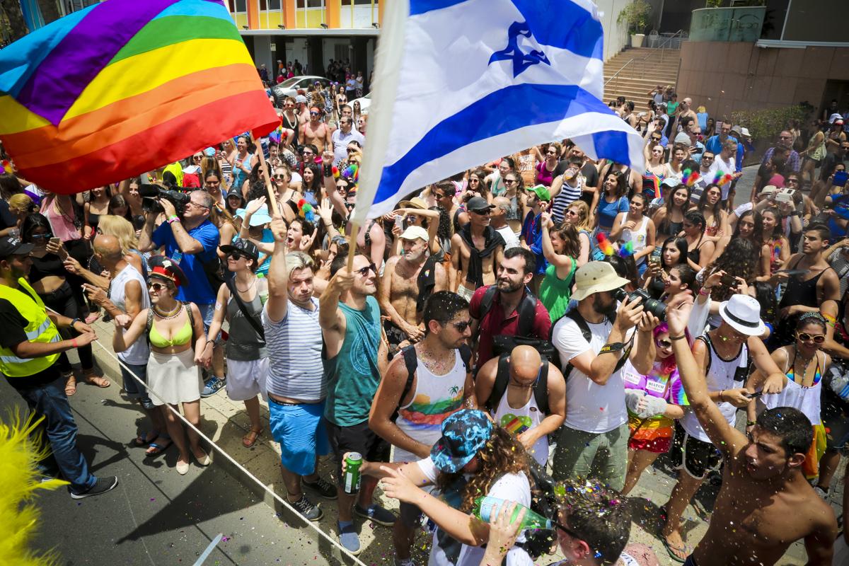 Dünyanın İlk Biseksüel Onur Yürüyüşü Tam 200 Bin Kişiyle Tel Aviv'de Gerçekleşti!