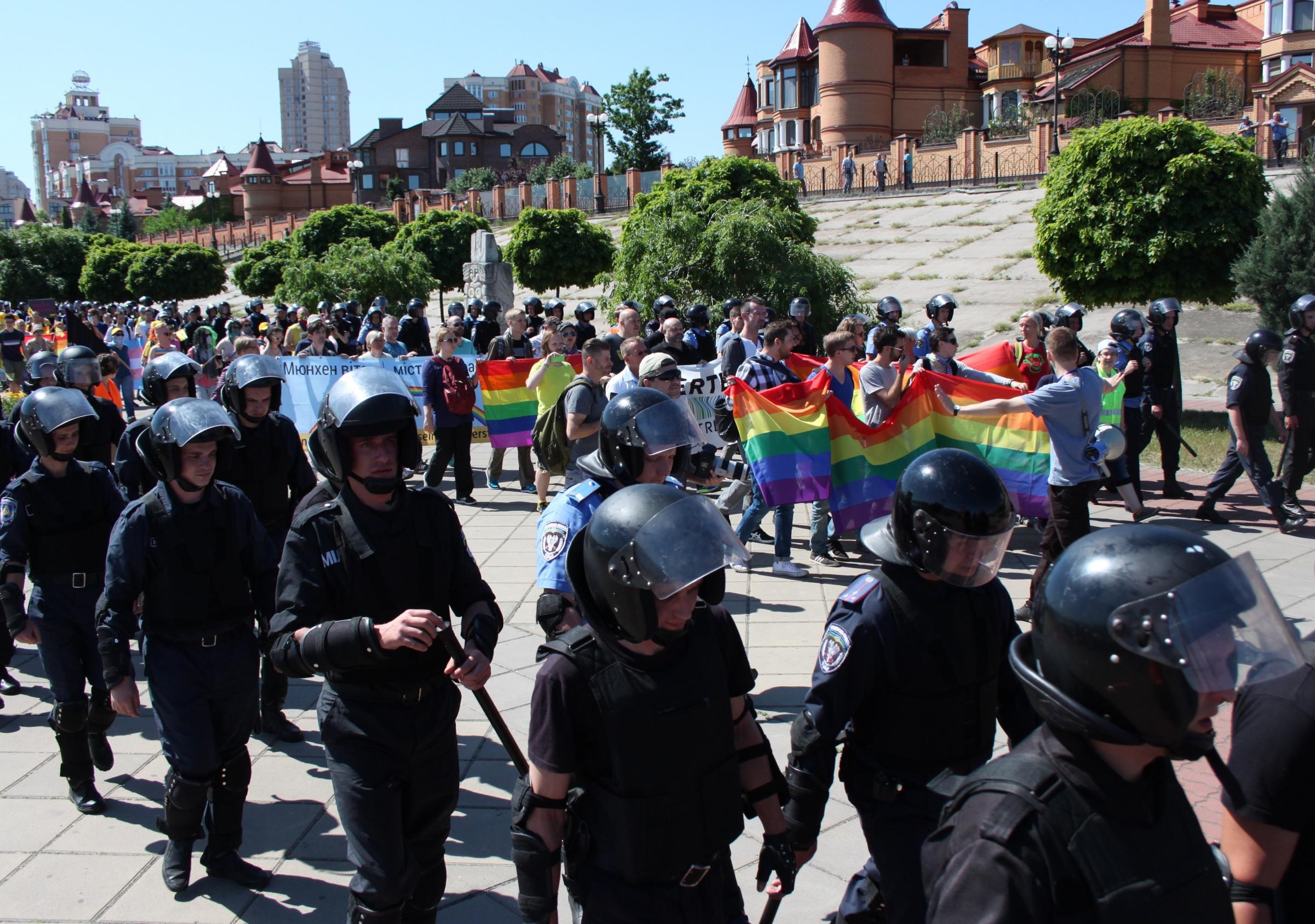 Обращая внимания гей парад в киеве
