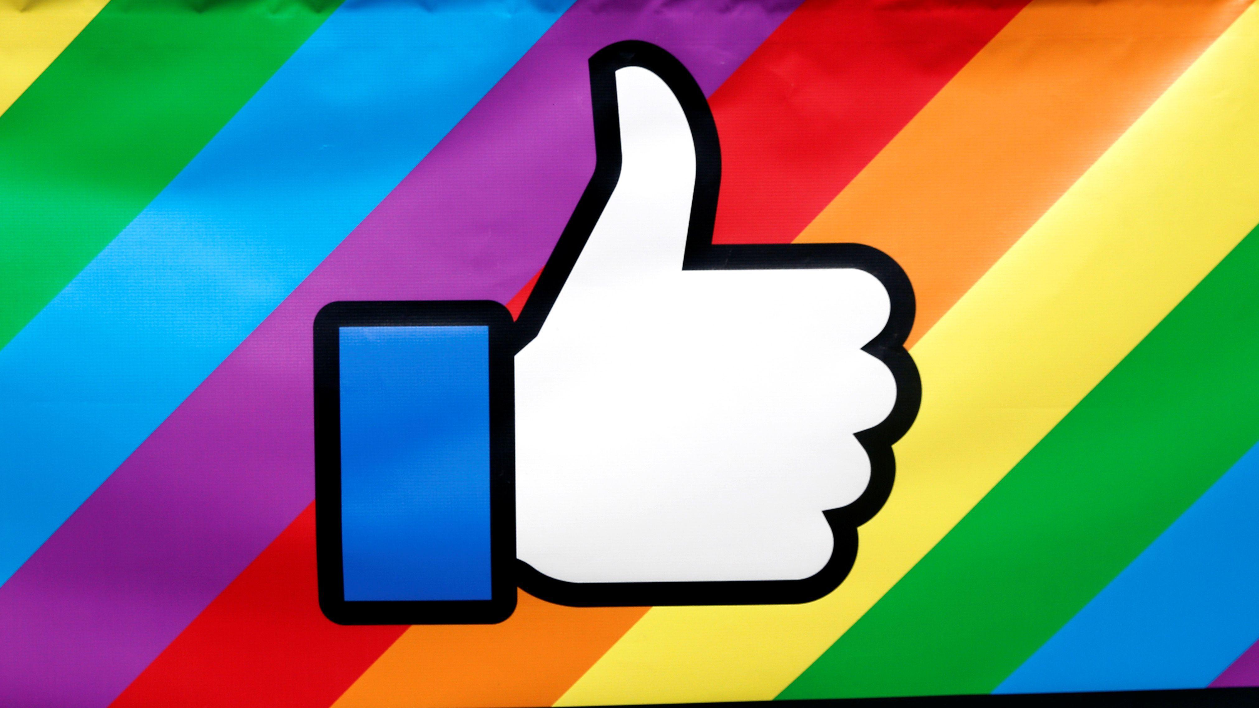 Facebook Gökkuşağı Simgesini Türkiye'de Dolaşımdan kaldırdı!