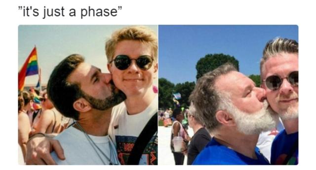 Eşcinsel Çiftin 30 Yıllık Fotoğrafı Kanıtlıyor: 'Eşcinsellik Bir Evre Değil!'