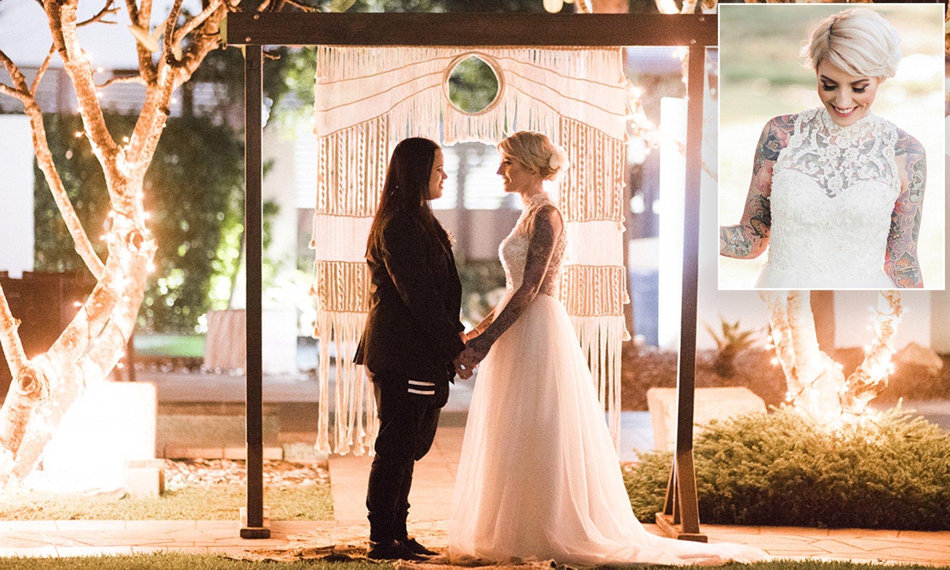 Avustralya'da Yasal Olarak Bağlayıcı Bir Törenle Evlenen İlk Eşcinsel Çift!