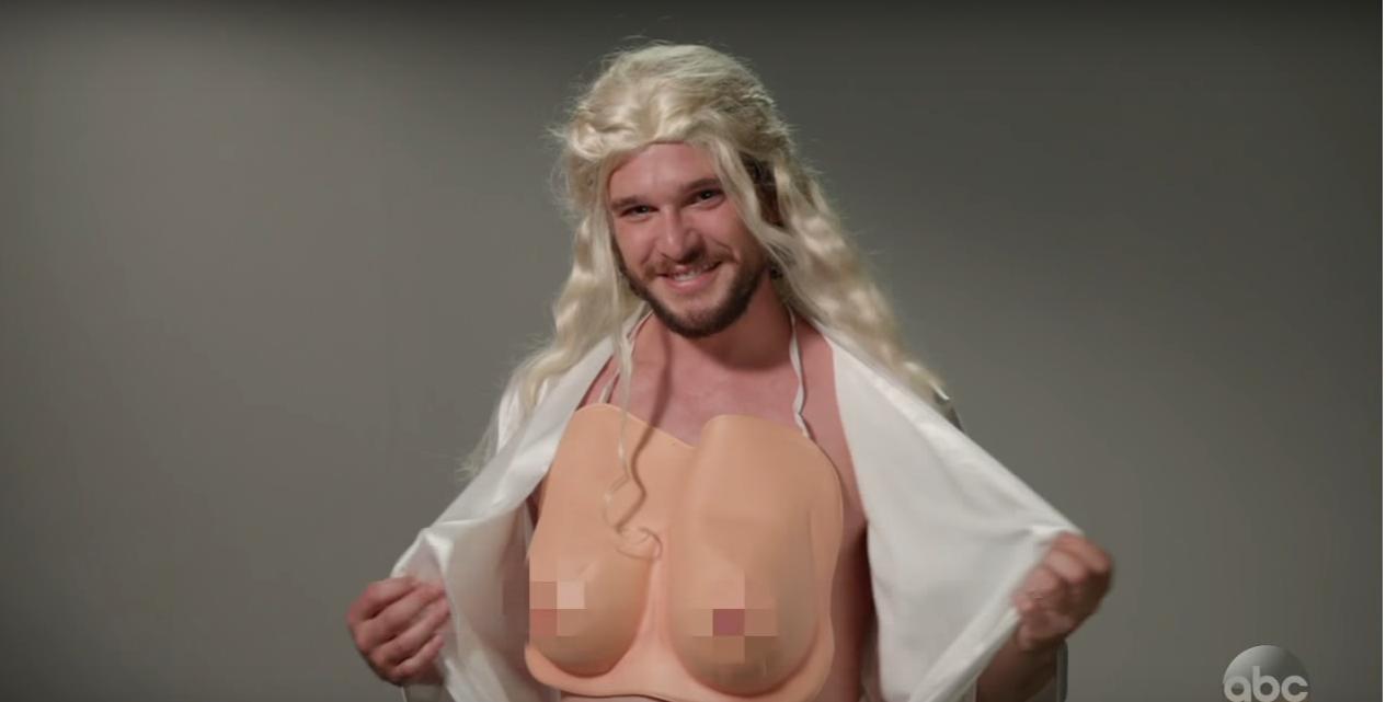 İzleyin: Kit Harington 'Game Of Thrones' Seçmelerinde Drag Oluyor