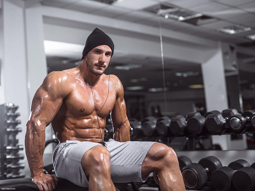 Gay gym story