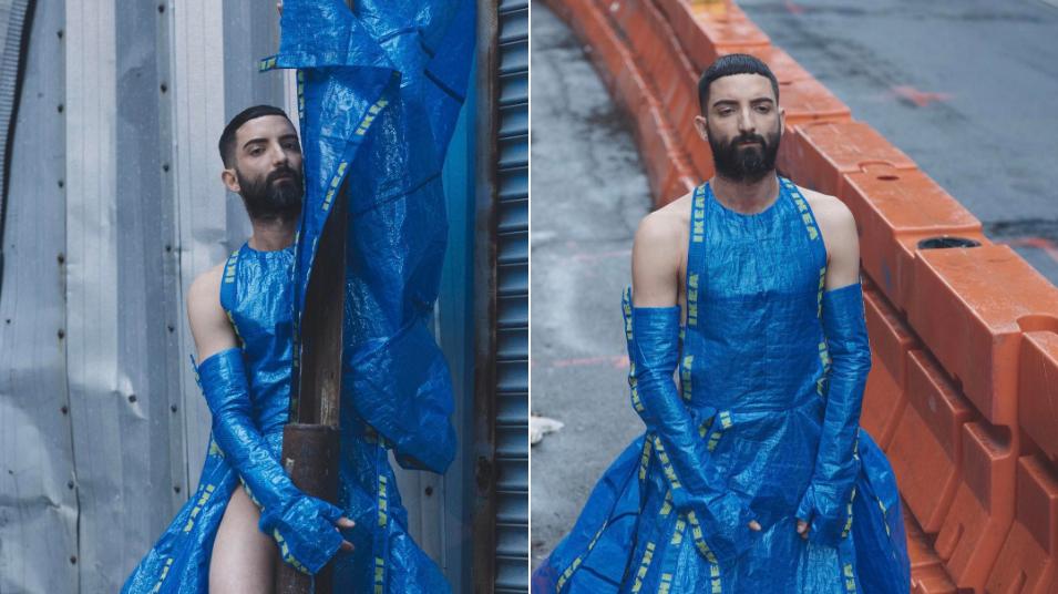IKEA Çantaları, Gay Fetiş Kıyafetlerine Dönüşüyor!