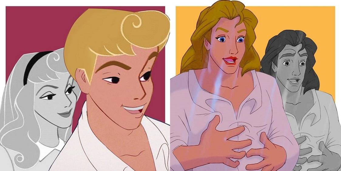 Disney Karakterleri Transseksüel Olarak Yeniden Hayat Buldu