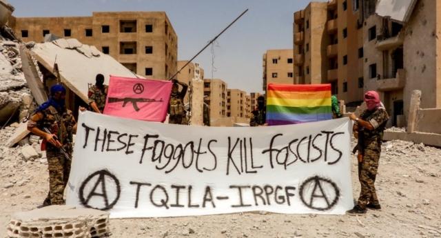 IŞİD ile Savaşan LGBT Askerler, Stockholm Pride'a Destek Mesajı Gönderdi