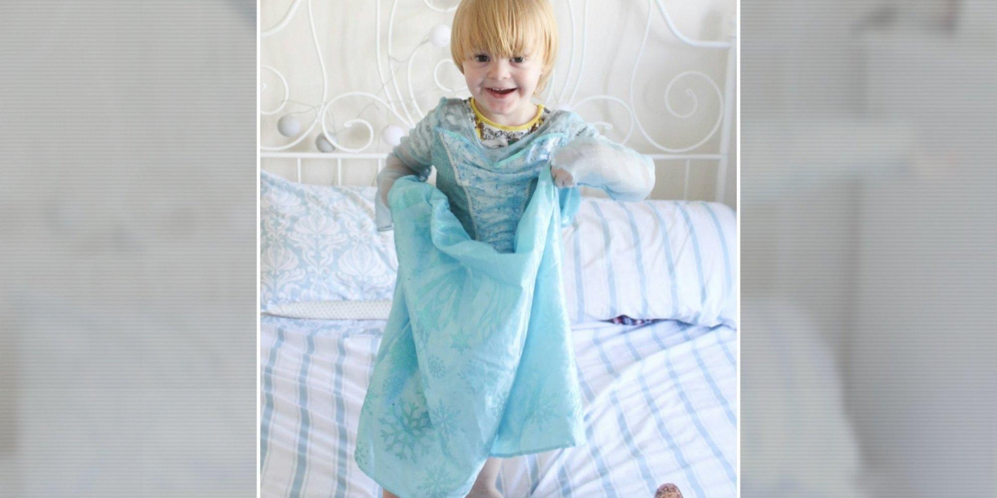 Disneyland, 3 Yaşındaki Erkek Çocuğun 'Bir Günlük Prenses' Deneyimi Yaşamasına İzin Vermedi!