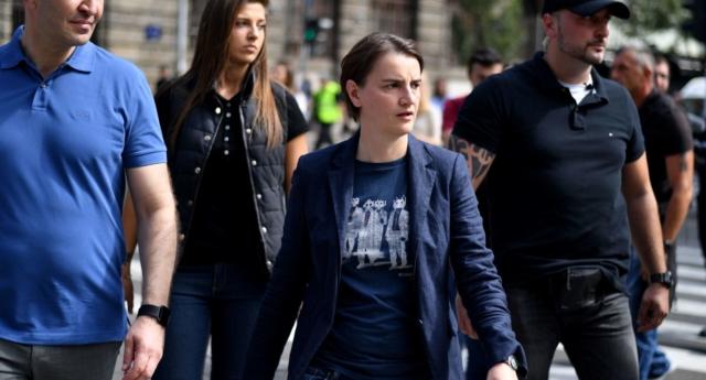 Sırbistan Başbakanı İlk Kez Onur Yürüyüşü'ne Katıldı