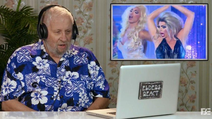 İzleyin: Yaşlı İnsanlar İlk Kez RuPaul's Drag Race İzlerse!