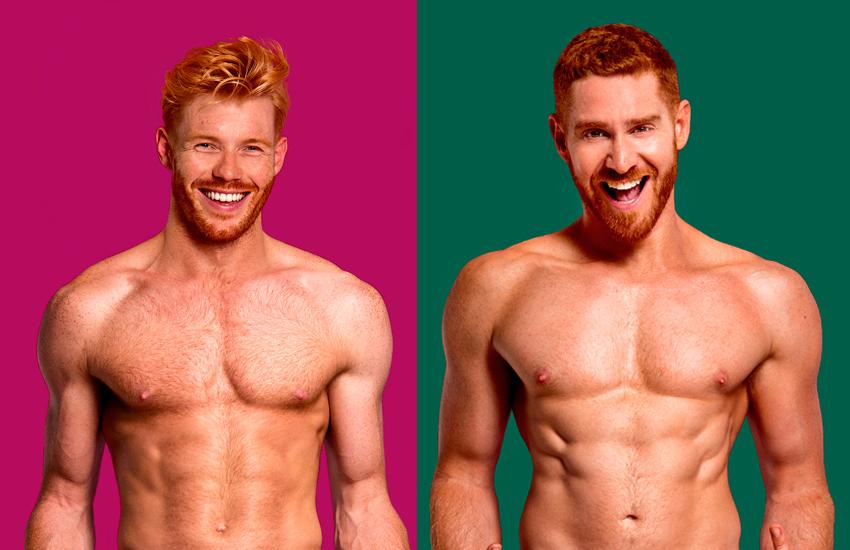 Kızıl Saçlı Çıplak Erkeklerin Bulunduğu Bu Takvime Bayılacaksınız!