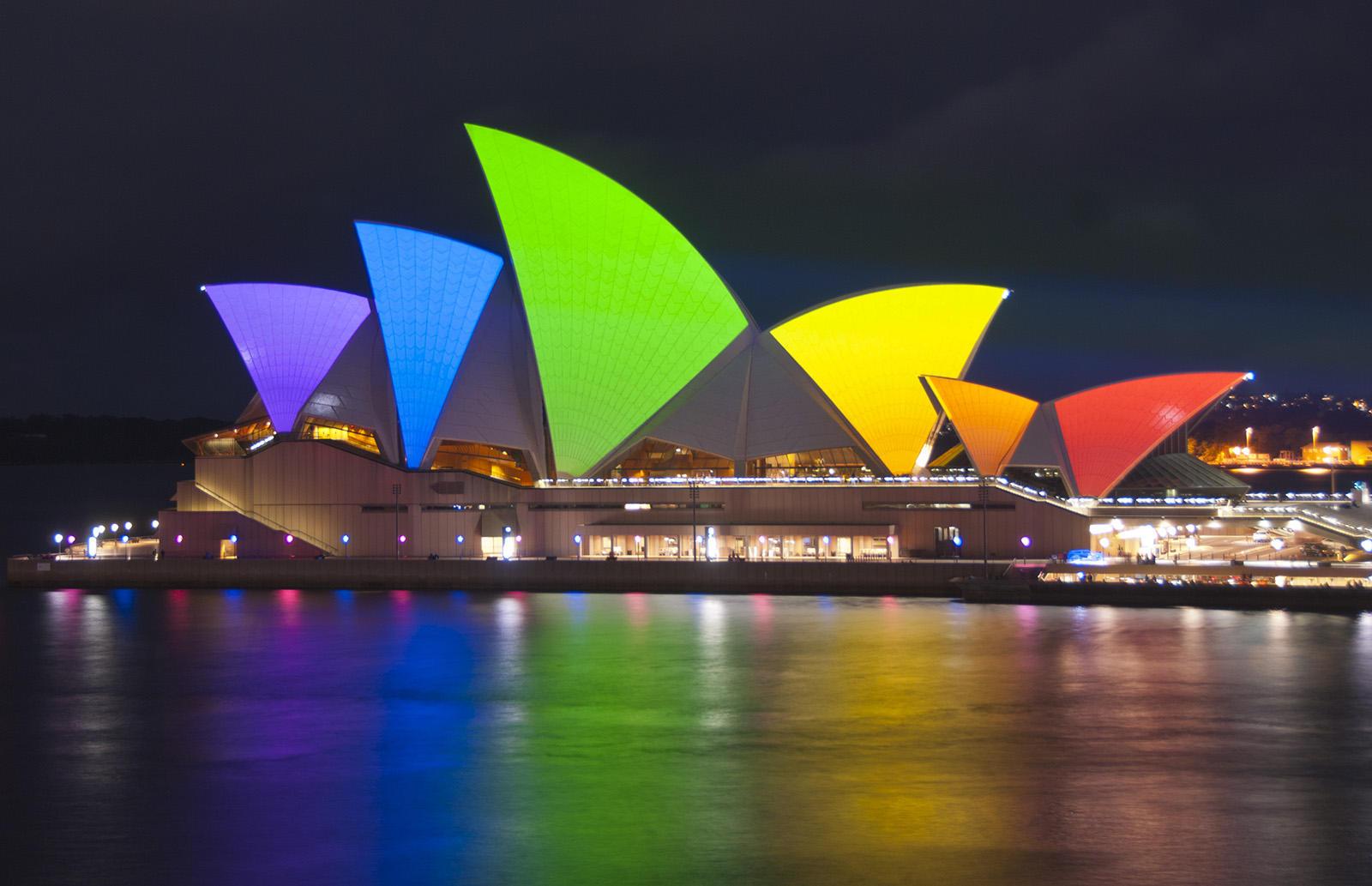 Avustralya Evlilik Eşitliğini Kabul Ederse Düğün Masrafları Sydney'den!