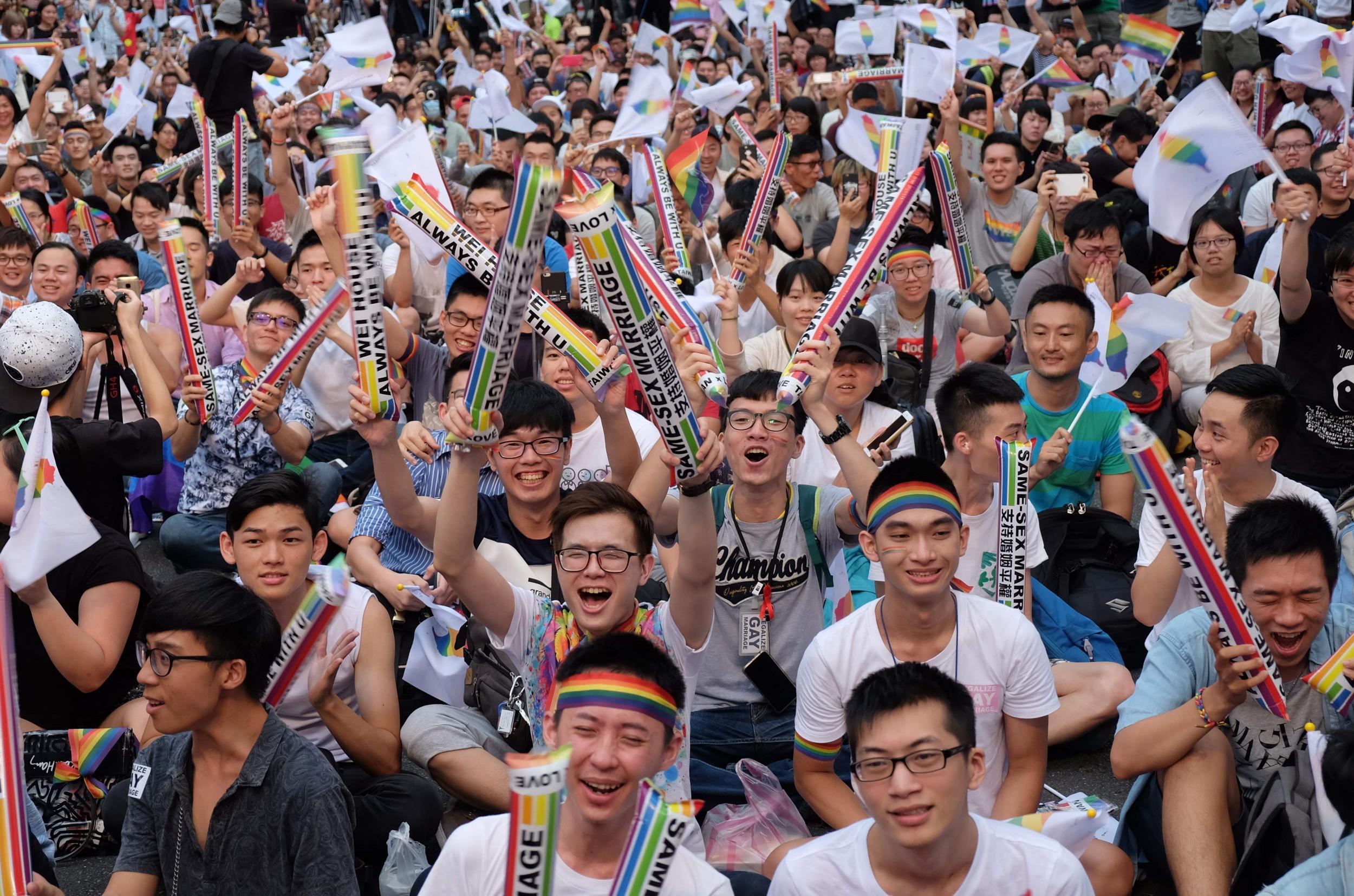 Tayvan'ın 15. Onur Yürüyüşü'ne Rekor Katılım!