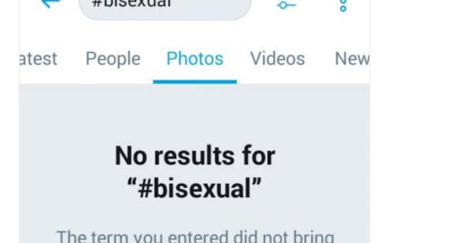 "Twitter, ""#bisexual"" Etiketini Engelledi!"