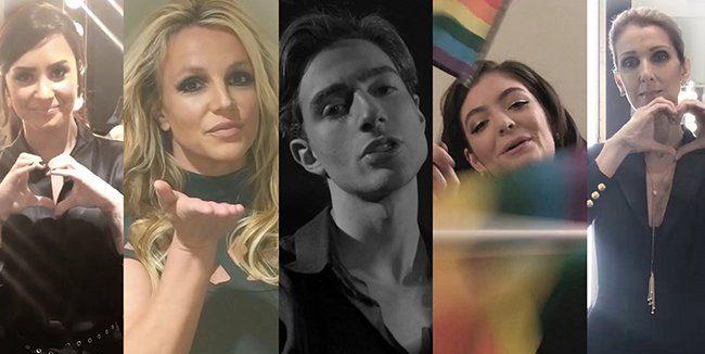 İzleyin: Ünlüler, LGBT Şiddetine Karşı Çıkmak İçin Bir Şarkıda Bir Araya Geldi!