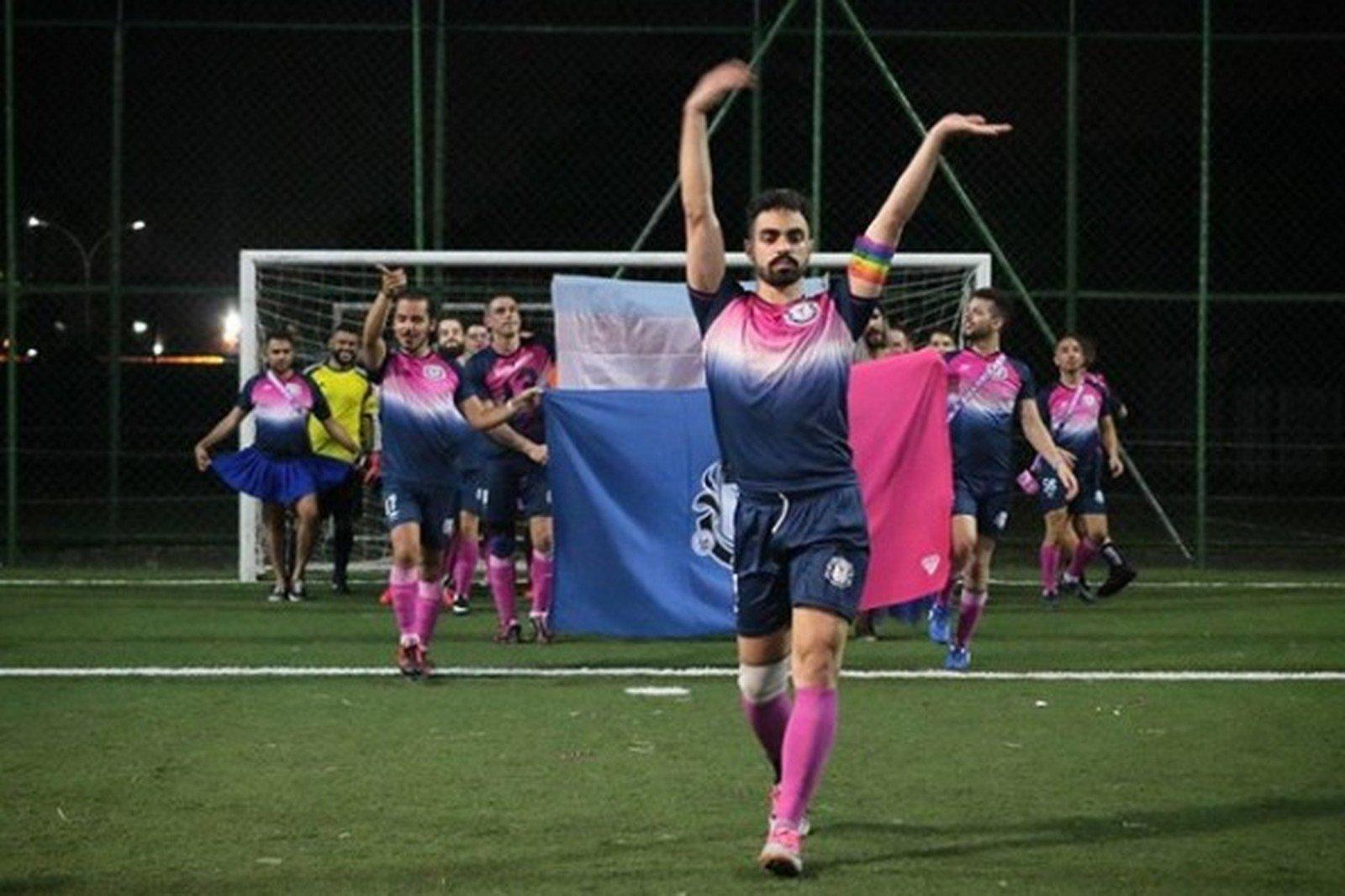 Brezilya'da İlk Eşcinsel Futbol Turnuvası Düzenlendi!