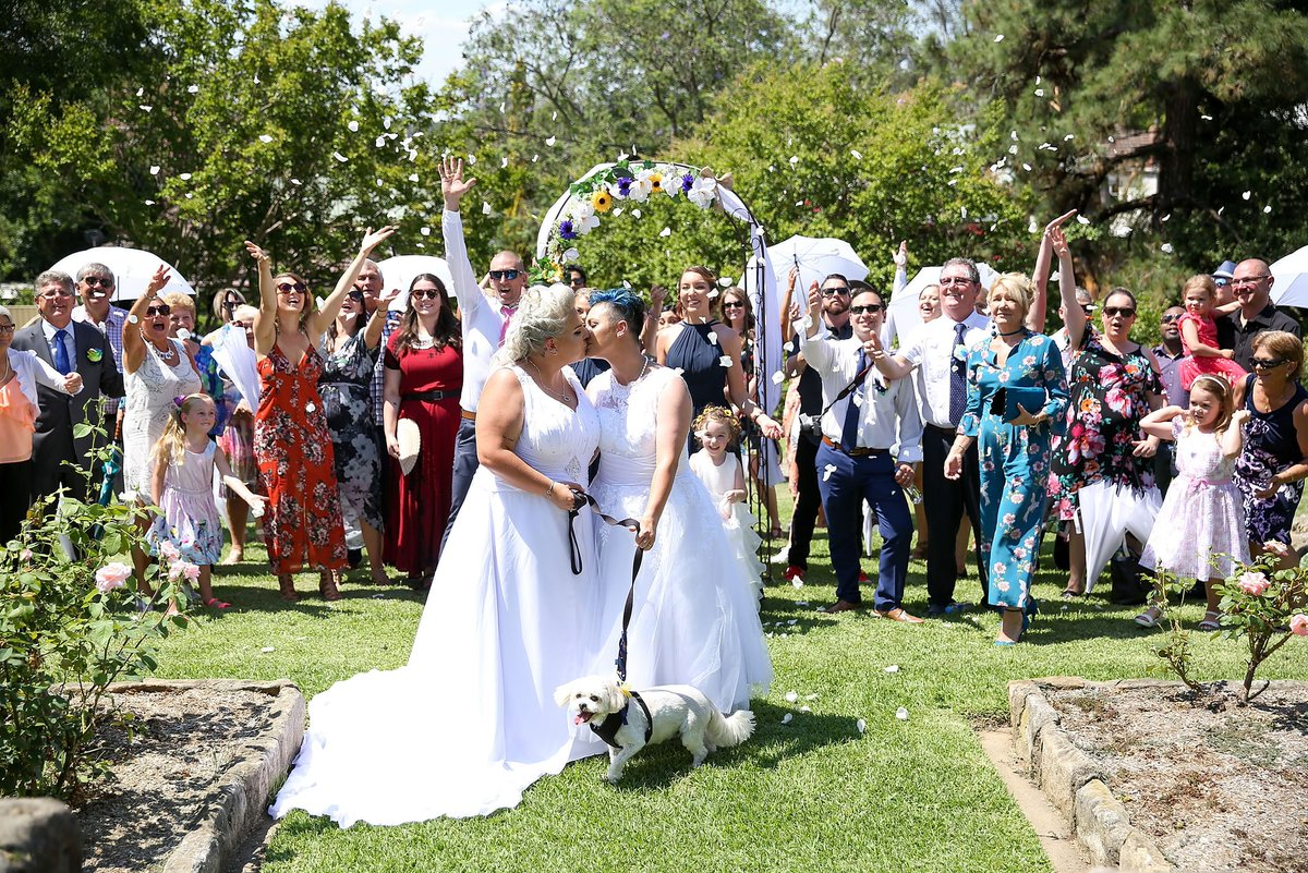 İşte Avustralya'nın Evlenen İlk Eşcinsel Çifti!