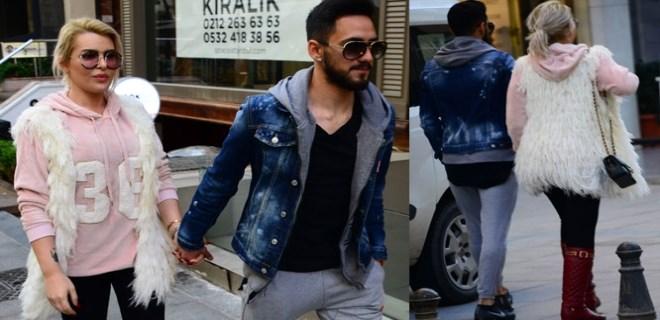 Selin Ciğerci ve Futbolcu Sevgilisi Gökhan Çıra İlk Kez El Ele Görüntülendi