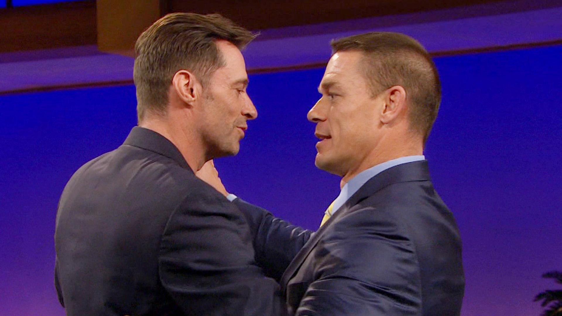 İzleyin: John Cena ve Hugh Jackman'ın Ateşli Dansı!
