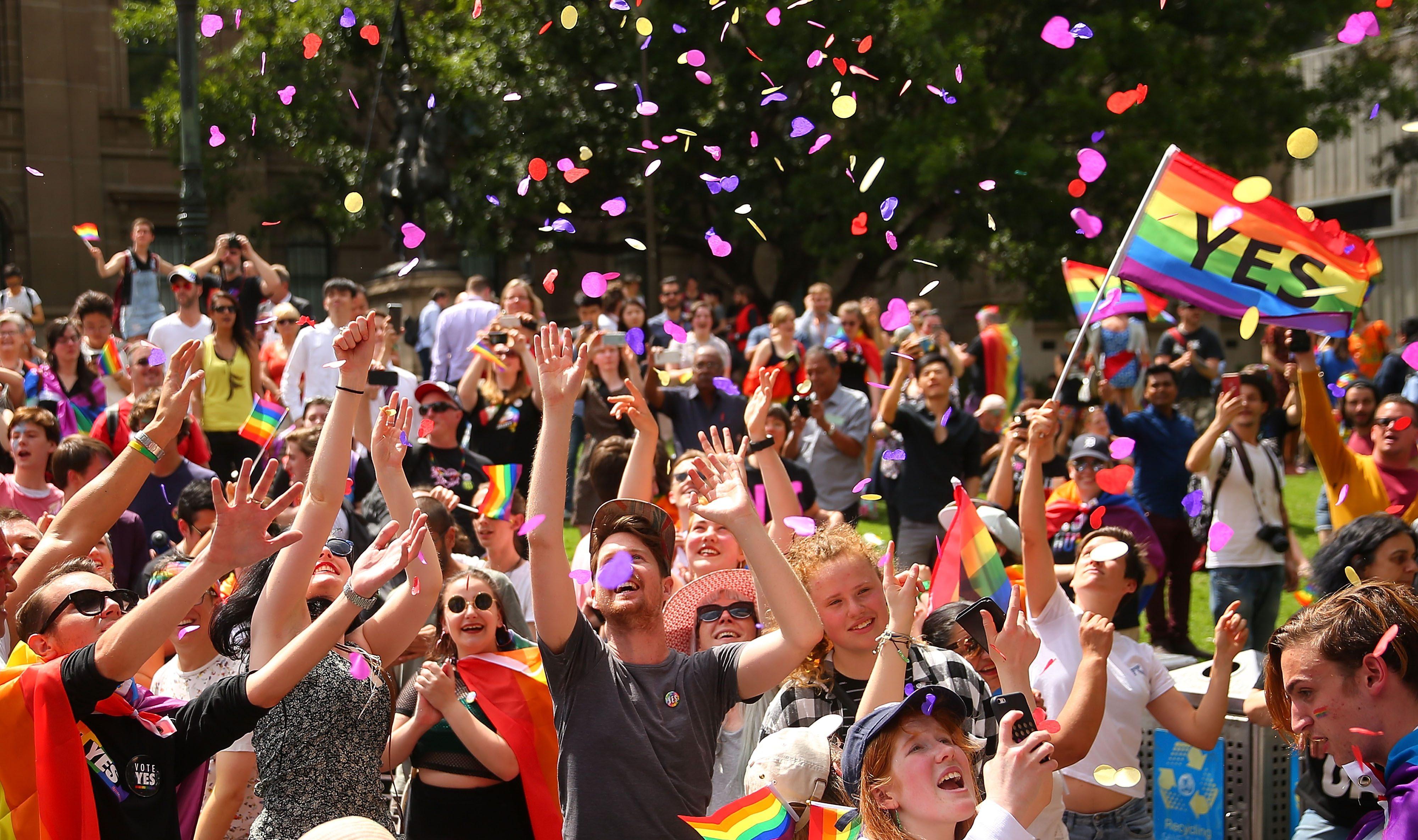 Sydney Festivali, Eşcinsel Evliliği Kutlamak İçin Büyük Bir Evlilik Resepsiyonu Verecek
