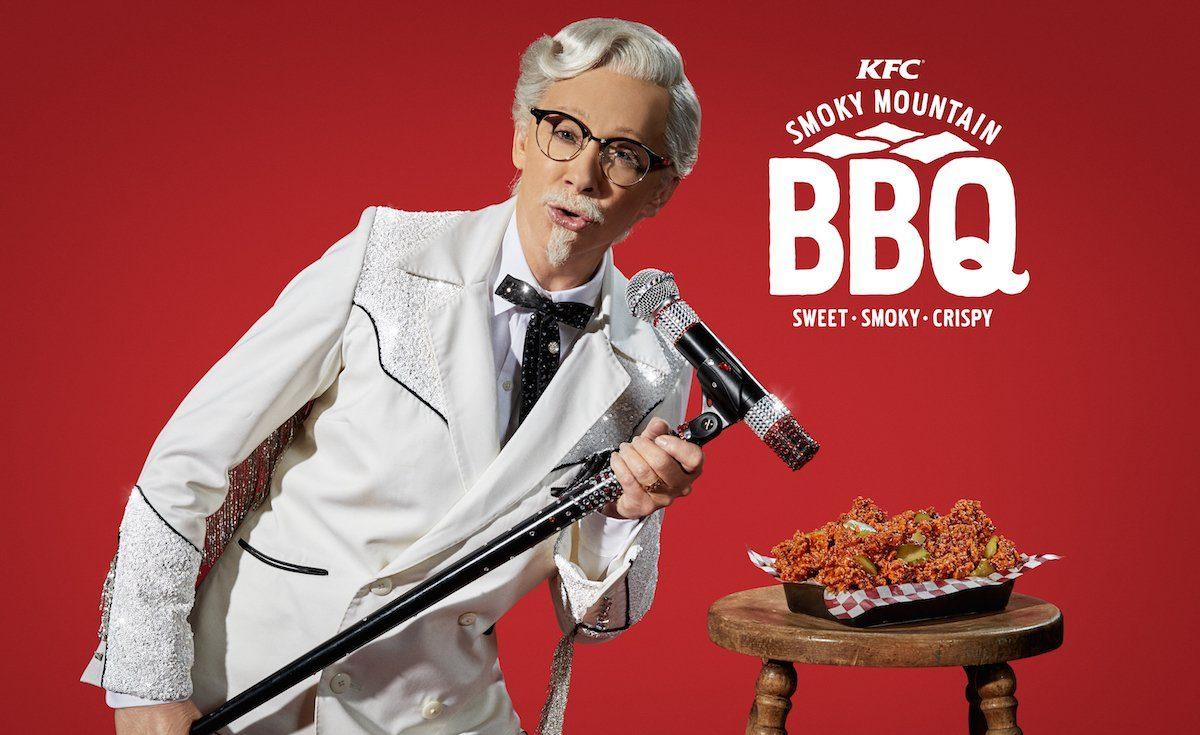 İzleyin: Efsanevi Şarkıcı KFC Reklamı İçin Drag Oldu