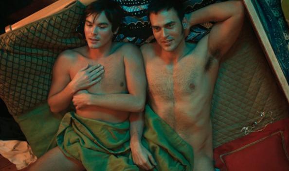 Cheyenne Jackson'ı, Yeni Müzikal Filminde Eşcinsel Sevişme Sahnelerinde Göreceğiz