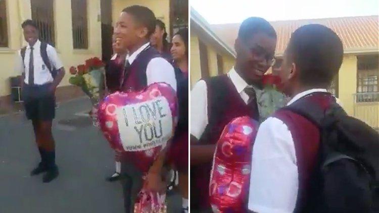 İzleyin: İki Liseli Arasındaki Bu Sevgililer Günü Sürprizi, İnsanlığa İnancınızı Yenileyecek!