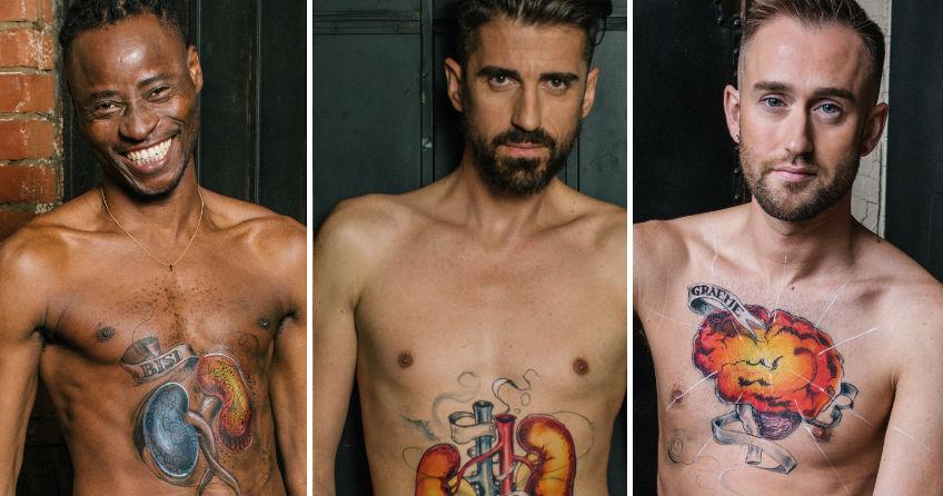 HIV Pozitif Erkekler Virüsle Yaşlanma Hakkında Farkındalık Yaratmak İçin Soyundu