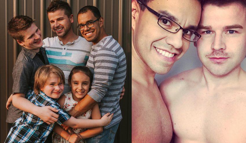 Eşlerinden Ayrılan Eşcinsel Babalar, Çocuklarını Tek Bir Ailede Buluşturdu