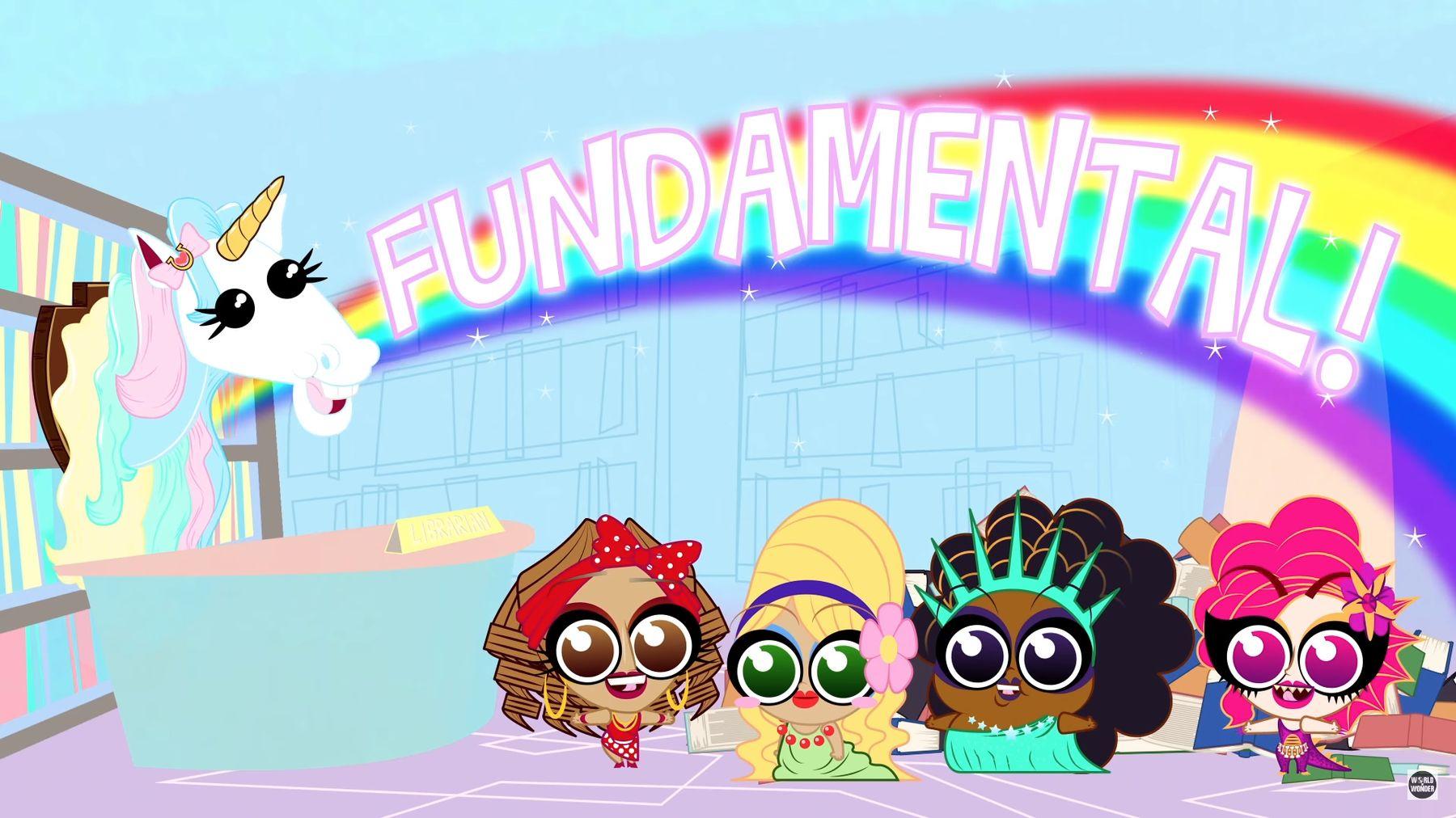 İzleyin: Hazır Olun: RuPaul's Drag Race İki Boyutlu Oluyor!